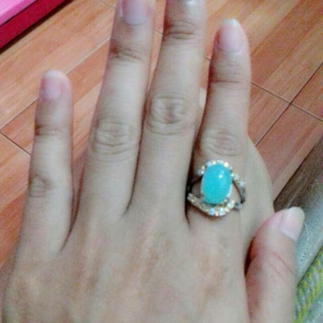cincin batu biru spirtus