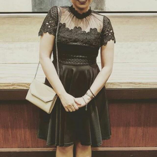 REPRICED: CLASSY BLACK DRESS
