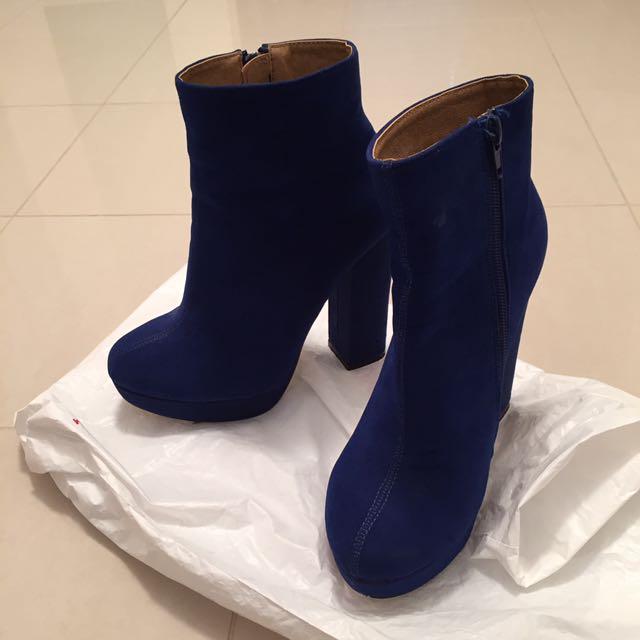 Cobalt Boots