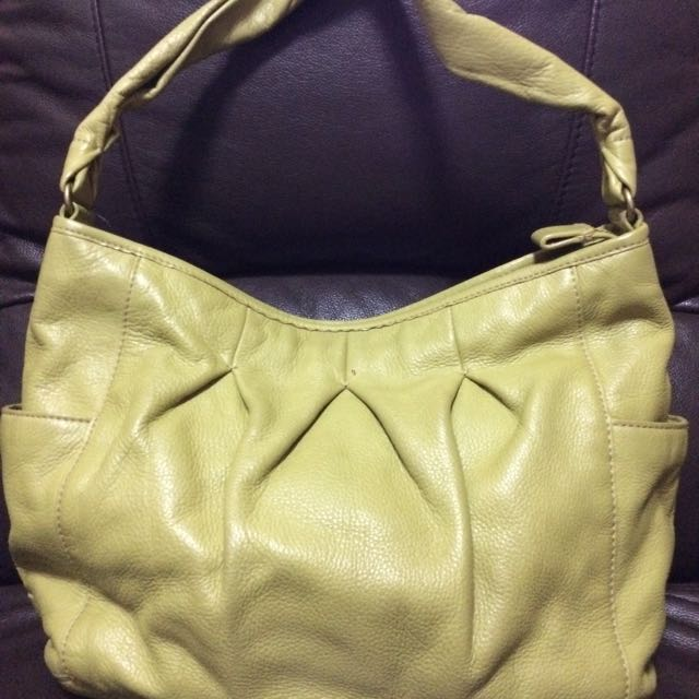 Cole Haan Authentic Apple Green Hobo