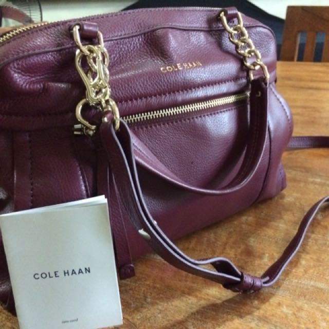 Cole Haan Authentic Leather Satchel