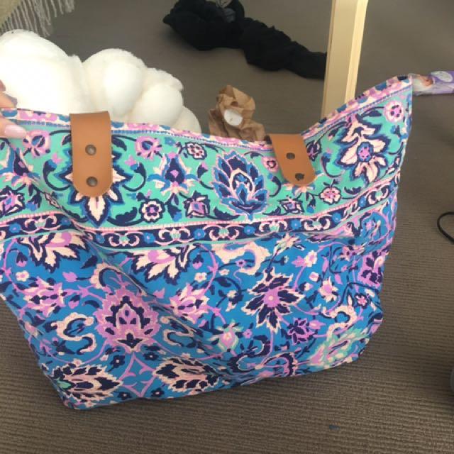 Colourful Beach Bag
