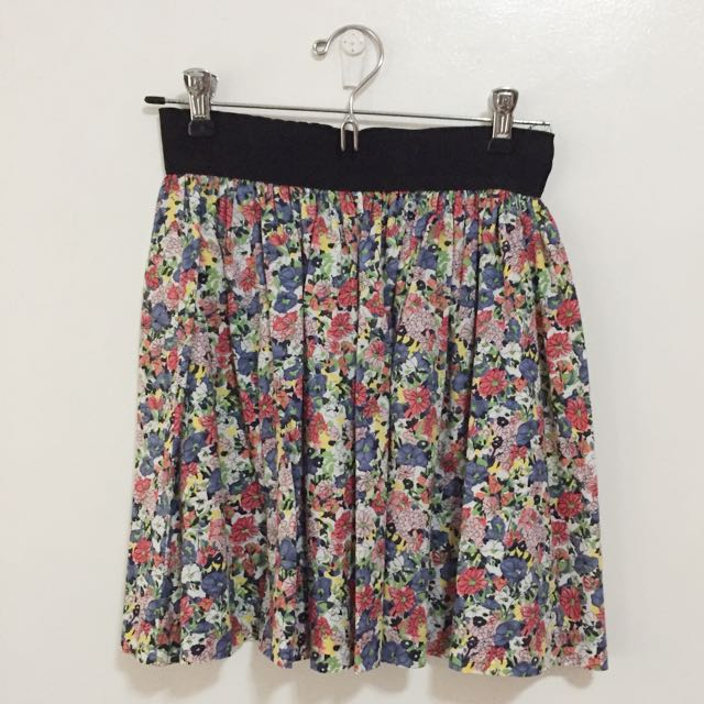 CPS CHAPS Floral Skirt