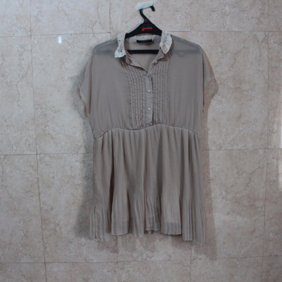 Cream Uptown Girl Dress