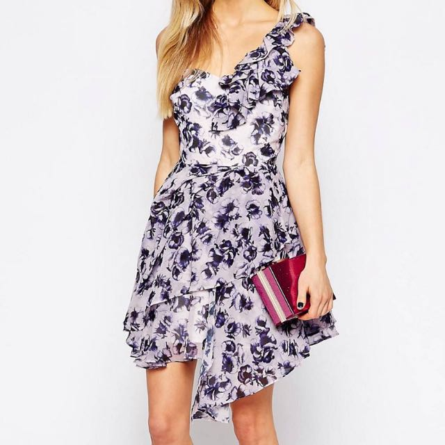 Daisy Street One Shoulder Dress