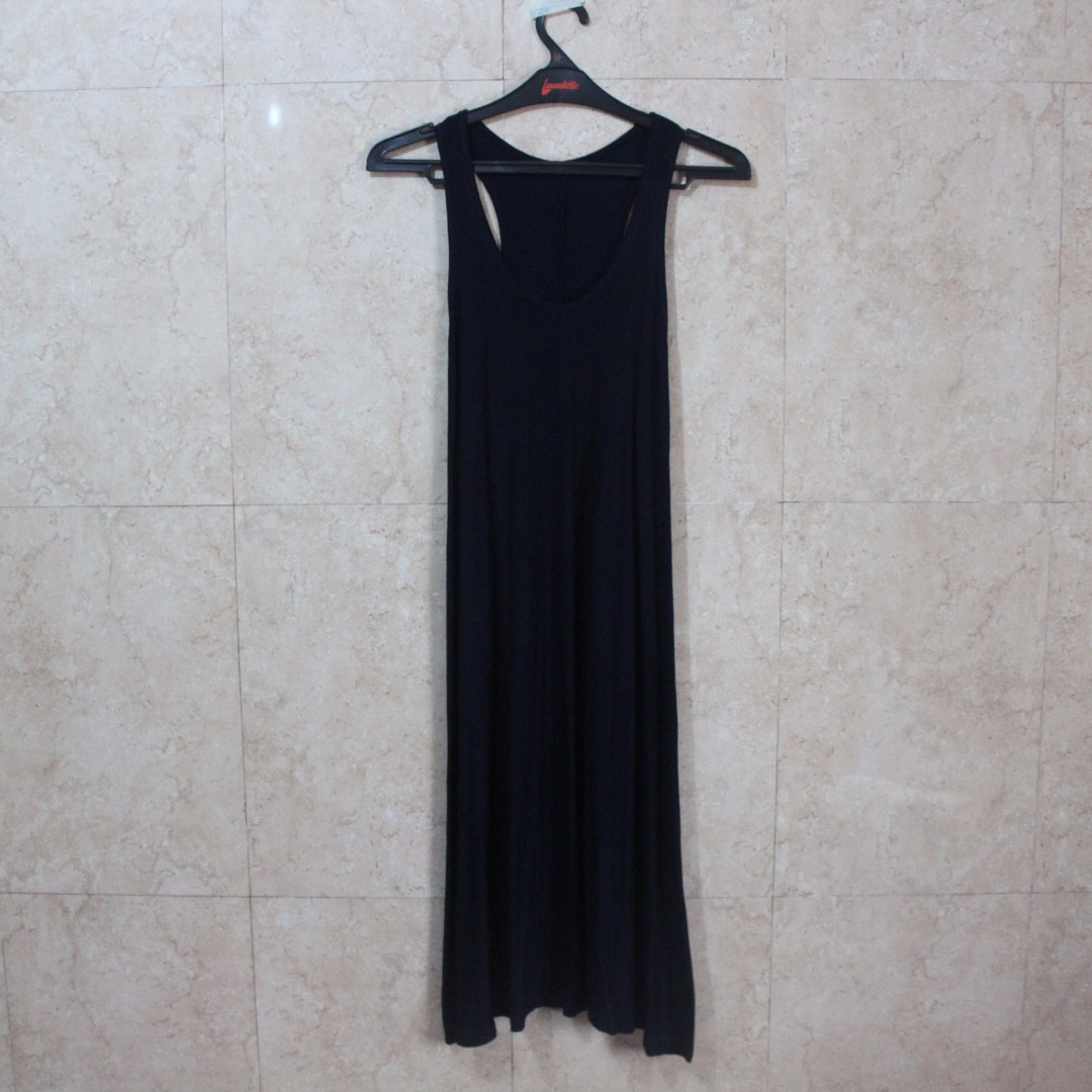 Dark Blue Sleeveless Dress