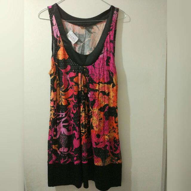Dress Abstract Glittery