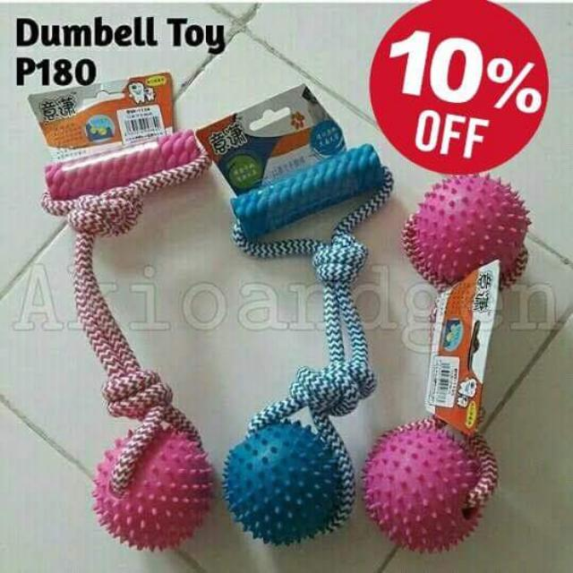 Dumbel Toy For Your Furbaby