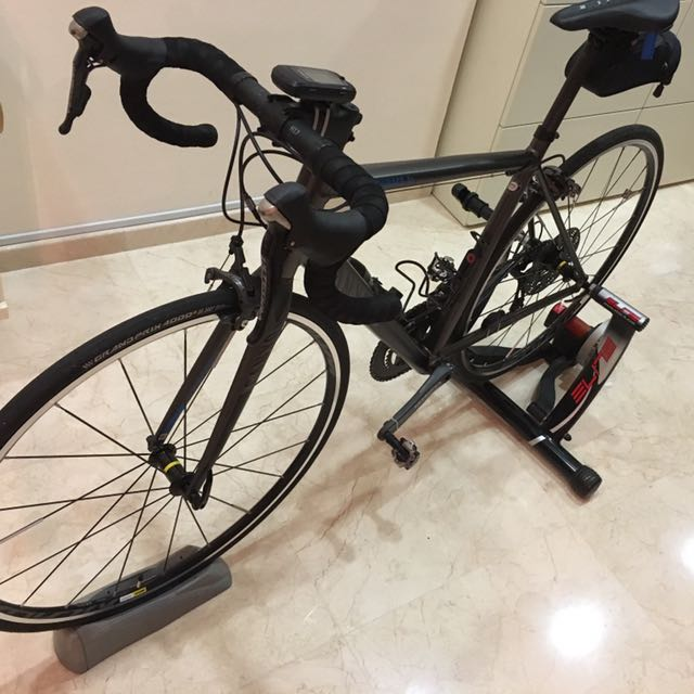 Elite Crono Fluid ElastoGel Trainer, Bicycles & PMDs