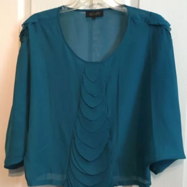 Elliatt Size 8 Sheer Blouse