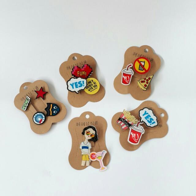 Emoji Pins Set