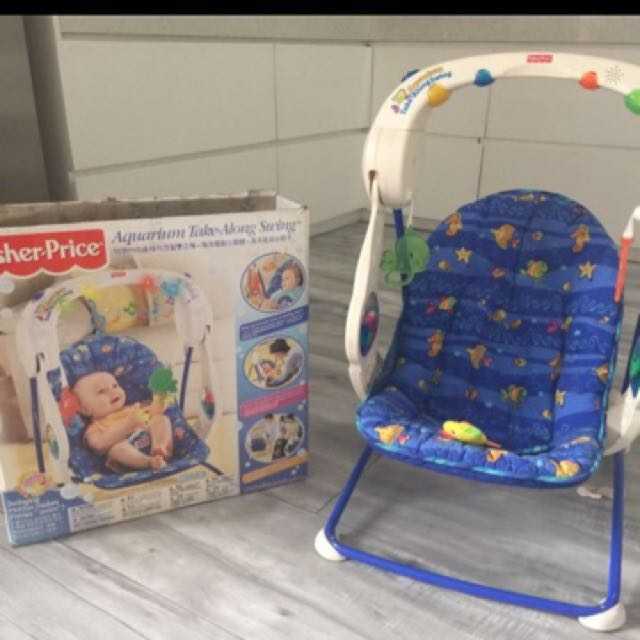 Fisher Price Take A Long Aquarium Swing