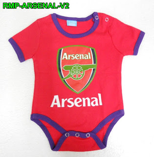 timeless design 9bbb2 20781 FOOTBALL JERSEYS BABY ROMPER - ARSENAL
