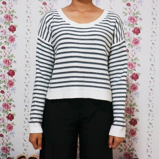 Forever 21 Stripes Knit Sweater