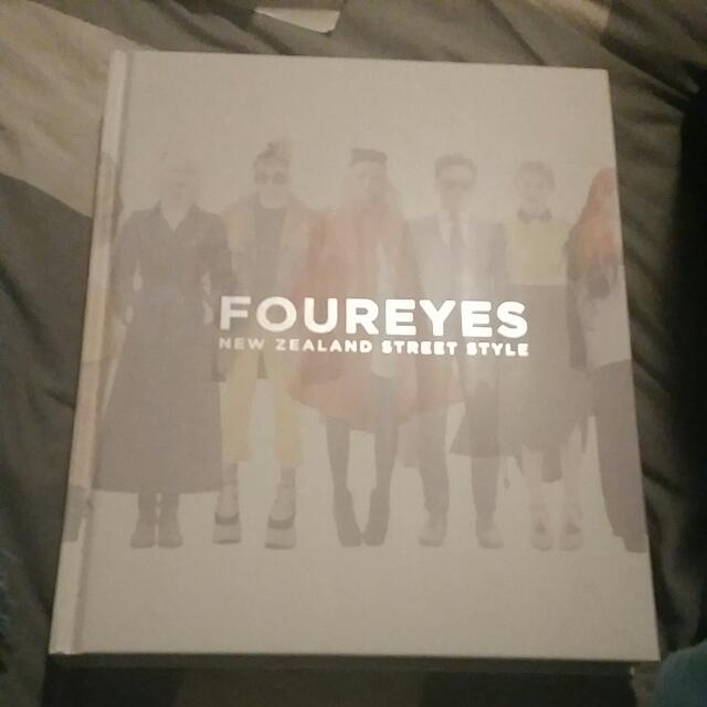 Four Eyes New Zealand Street Style Book.