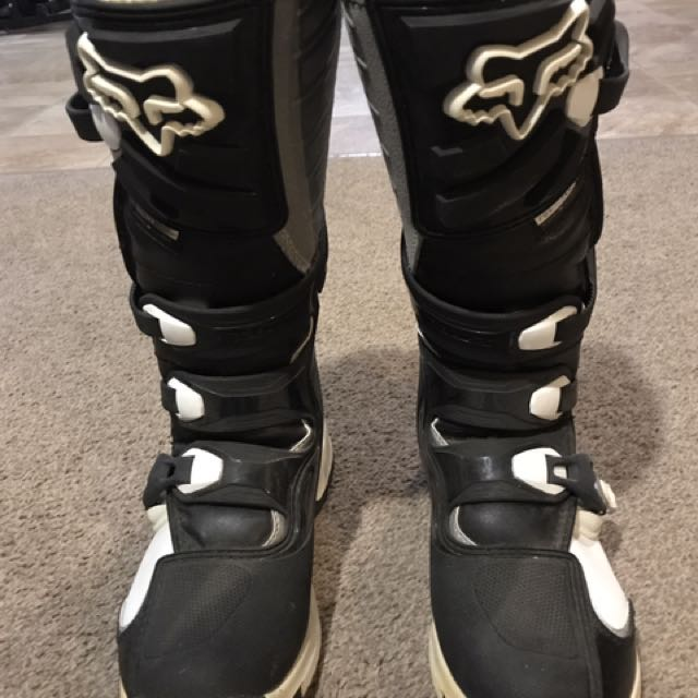 Fox Motorbike Boots Size 7