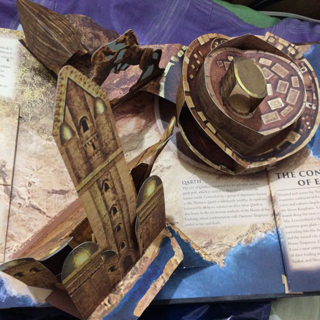 Game Of Thrones Westeros Pop Up Map Books On Carousell