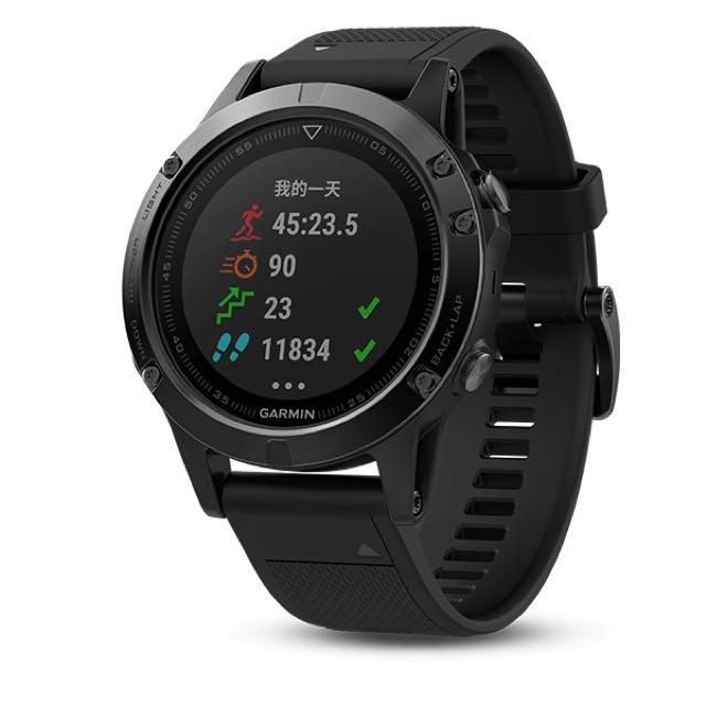 GARMIN FENIX 5全能戶外GPS運動腕錶 (光學心率款) Fenix5