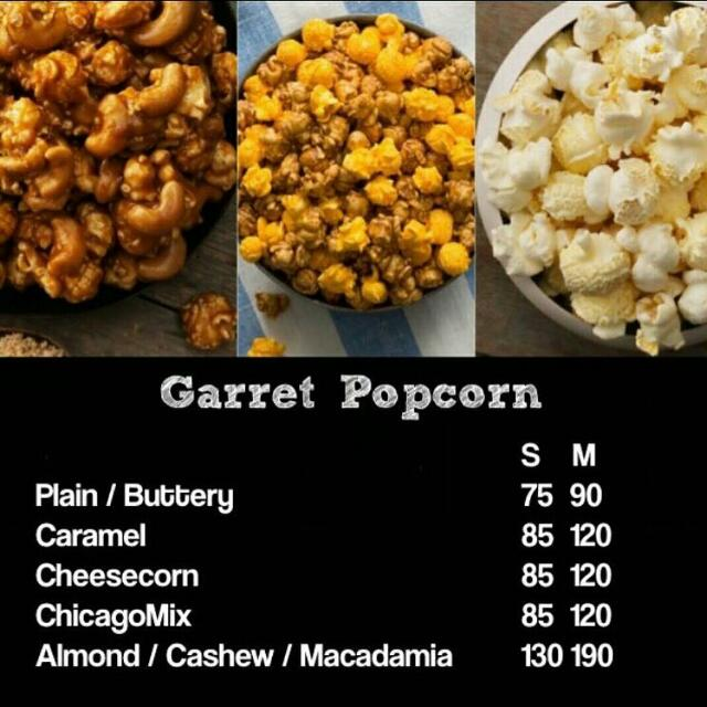 Garrett Popcorn Singapore