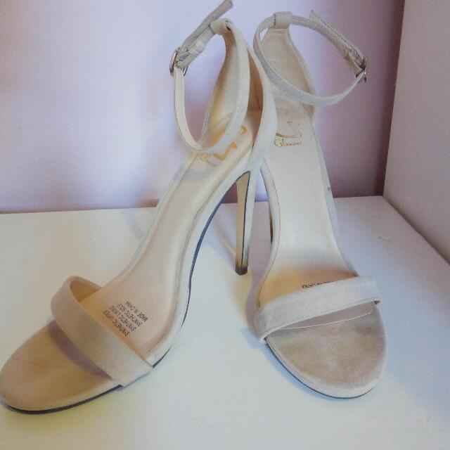 Glamour Nude Strap Heels
