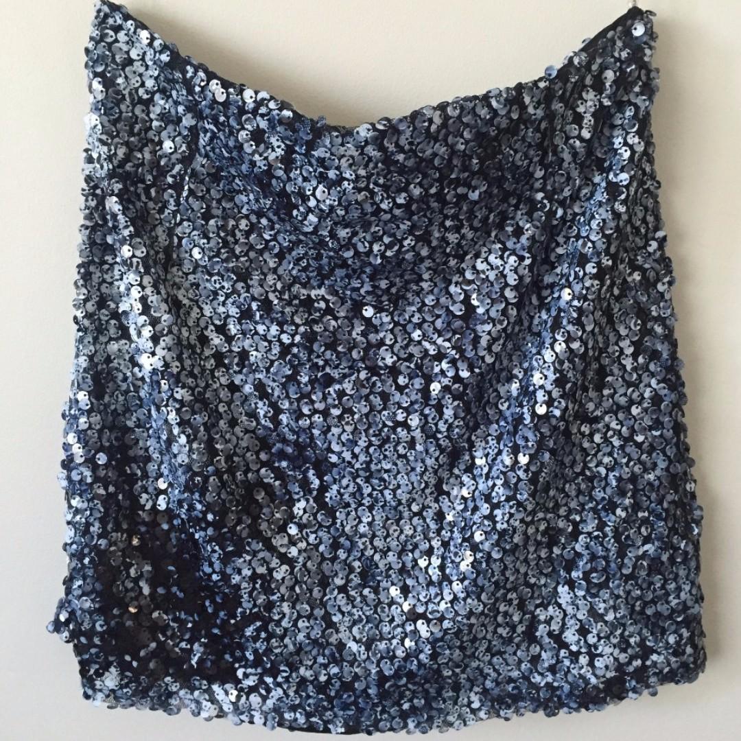 Glassons Sequin Mini Skirt
