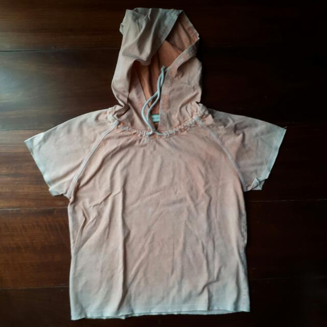REPRICED GTWUrban Orange Dyed Hoodie