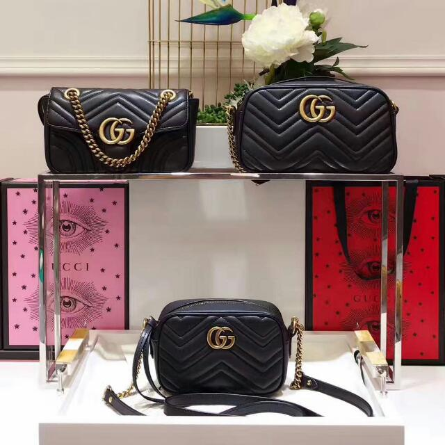 7b44ff401e03 Gucci gg Marmont Matelasse, Luxury, Bags & Wallets on Carousell