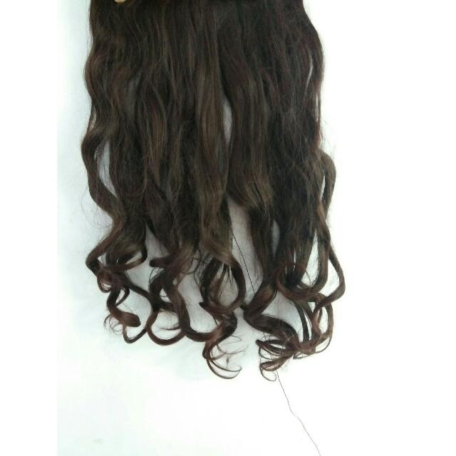 Hairclip Dark Brown