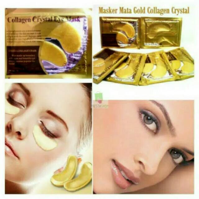 Collagen Crystal Eye Mask Rincian Produk Collagen Crystal Eye Mask Manfaat : - Mengurangi lingkaran hitam di bawah mata ...