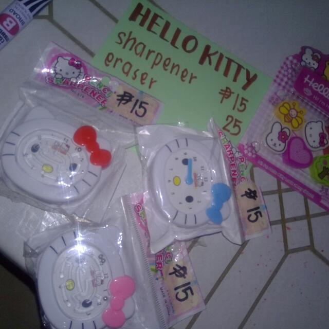 Hello Kitty Sharperner/Eraser