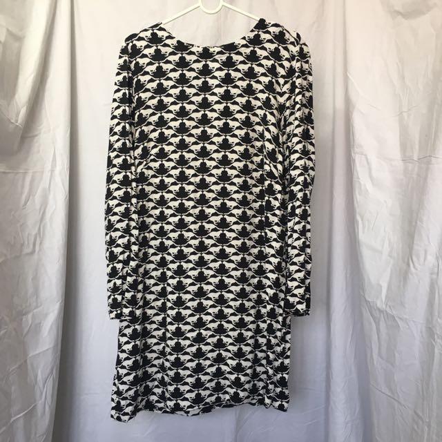 H&M Cheetah Print Dress