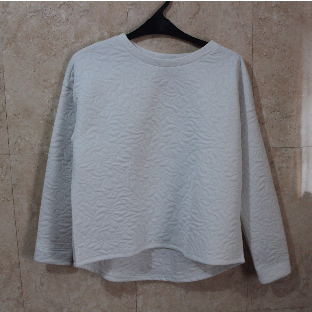 H&M White Longsleeves
