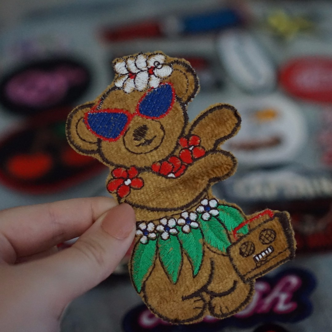 Hula bear patch