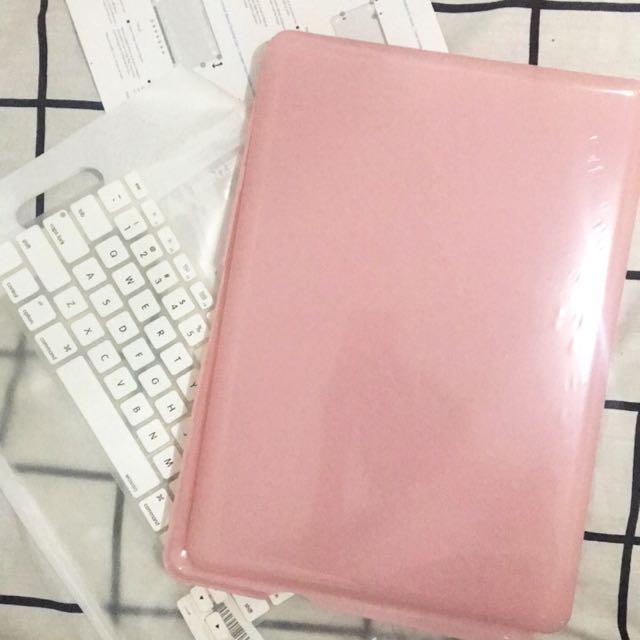 """iBenzer Macbook Pro 13"""" Case Baby Pink Pastel"""