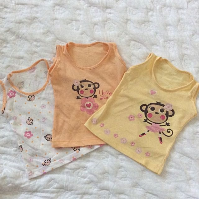 Infant Cute Monkey Sando For Girl