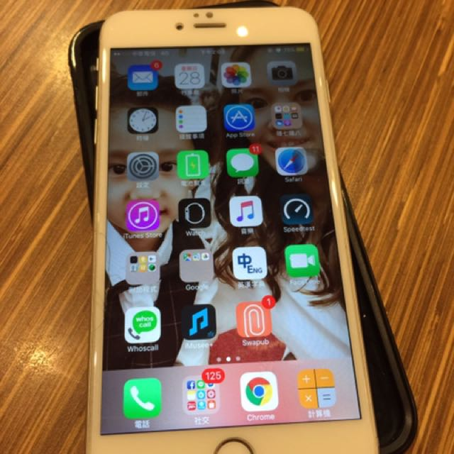 iPhone 6 Plus 64g 銀白色