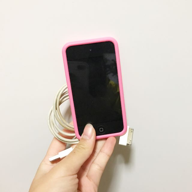 IPOD TOUCH 4 SILVER 8 GB
