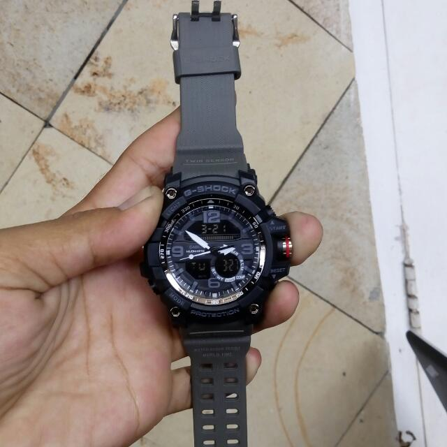Jam Tangan Casio Gshock GG-1000 Black Grey