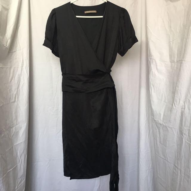 K & Company Wrap-around Dress