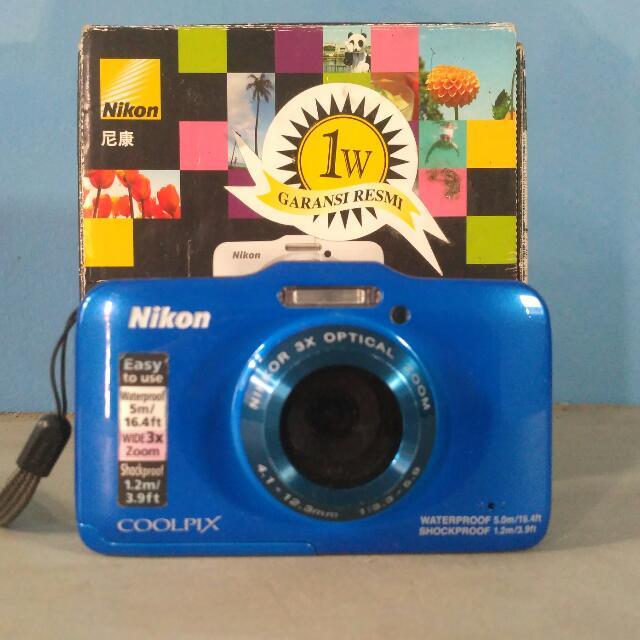 Kamera Dalam Air Nikon S31