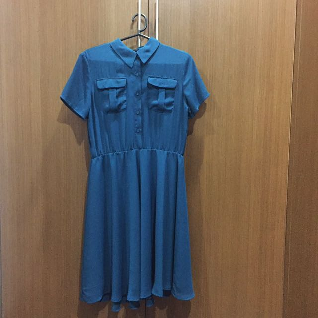 Kashieca Teal Dress (Medium)