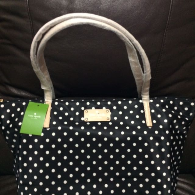 Kate Spade Authentic Polka Dot Tote
