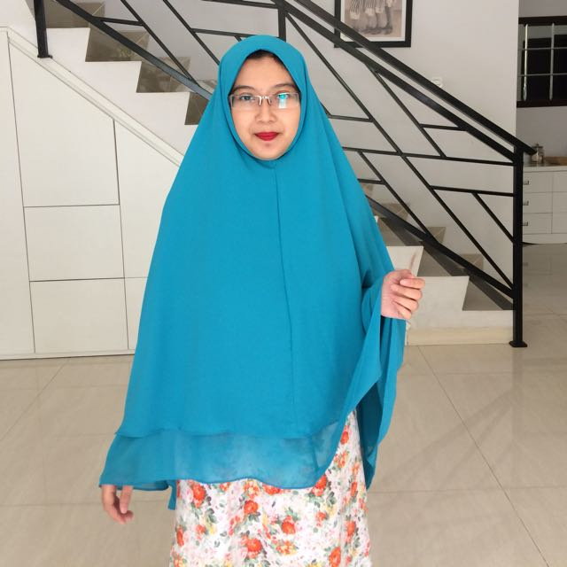 (NEW - SALE) KHIMAR 2 LAYER