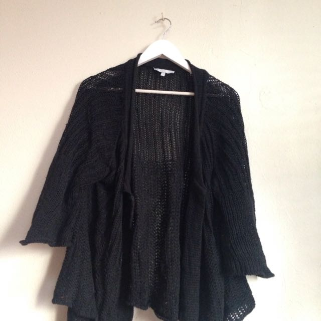 Knitted Throw Cardigan