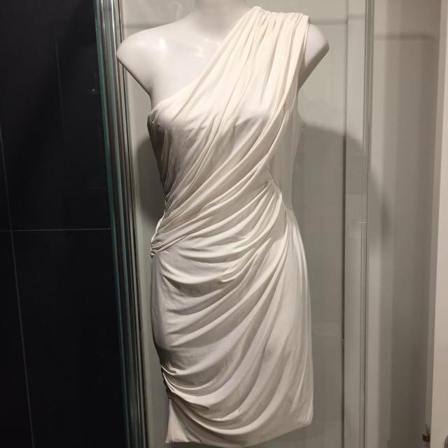 Kookai Goddess One Shoulder Dress Sz.8