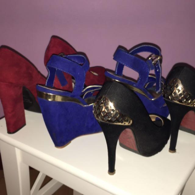 Ladies Heels Size 5-6