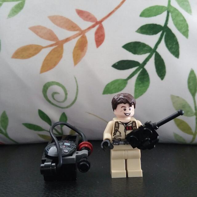 Lego Minifigure Ghostbusters Raymond Stantz