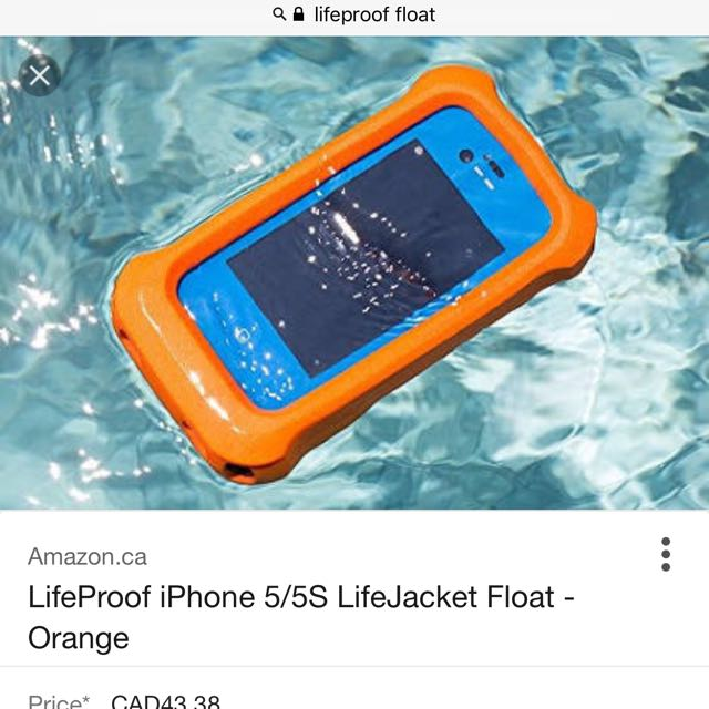 Life proof Lifejacket Case- I Phone 6