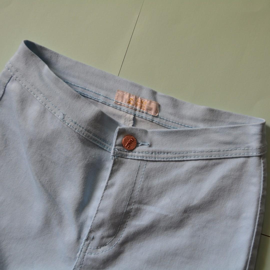 Light blue highwaist pants