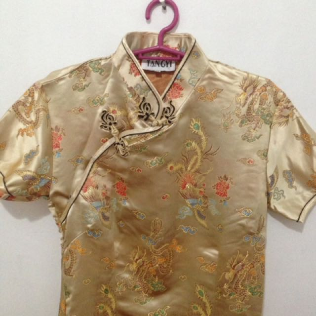 Long Chinese Style Dress